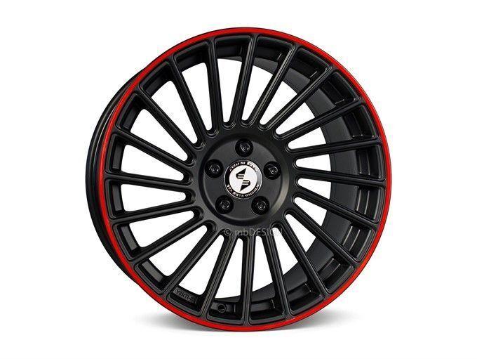 Felgen VENTi-R Black Red