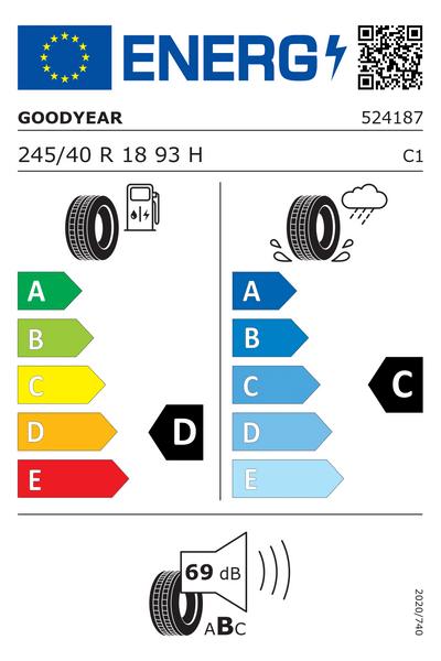 Reifenlabel 67-1-E-C-C1