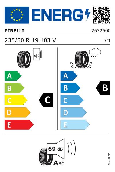 Reifenlabel 69-1-C-B-C1