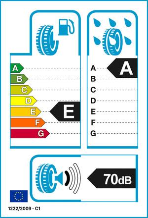 Reifenlabel 70-1-E-A-C1