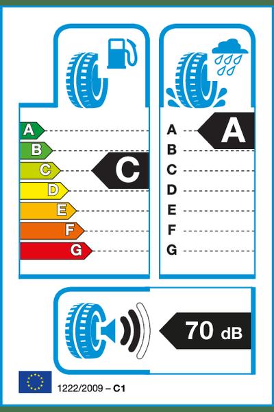 Reifenlabel 70-2-C-A-C1