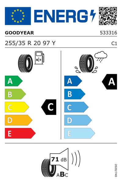 Reifenlabel 71-2-C-A-C1