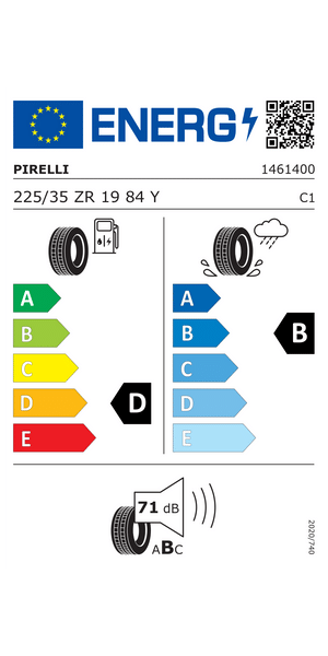 Reifenlabel 71-2-E-B-C1