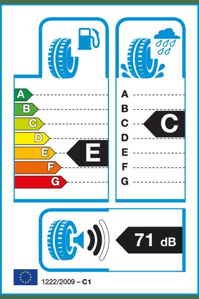 Reifenlabel 71-2-E-C-C1