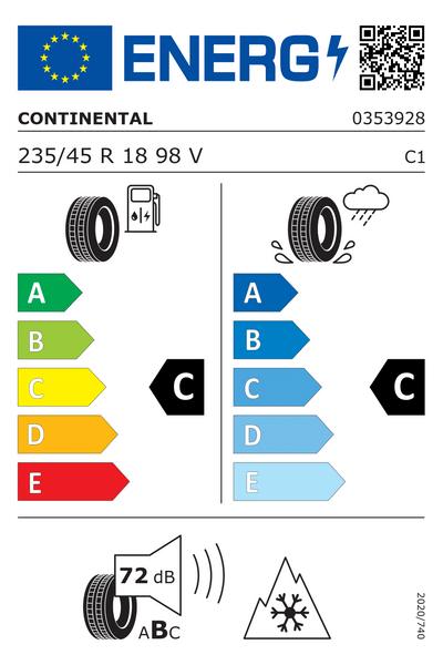 Reifenlabel 72-2-C-C-C1