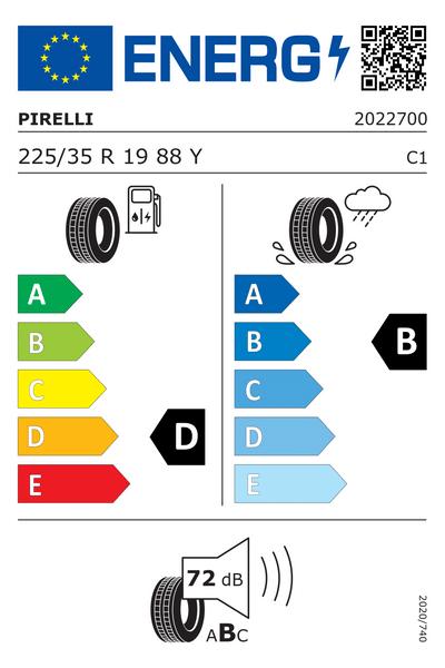 Reifenlabel 72-2-D-B-C1