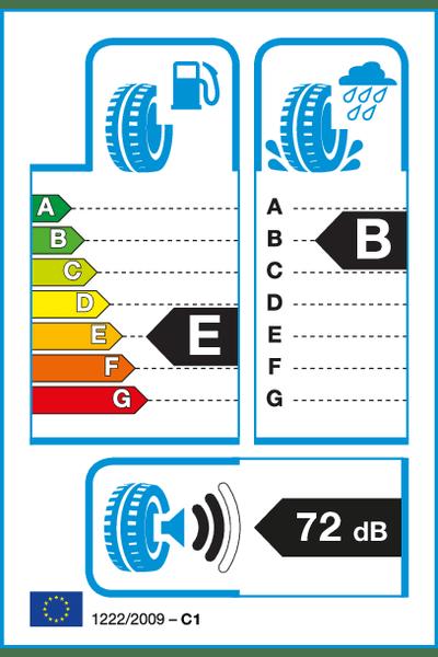 Reifenlabel 72-2-E-B-C1