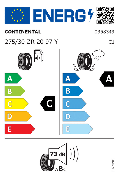 Reifenlabel 73-2-C-A-C1