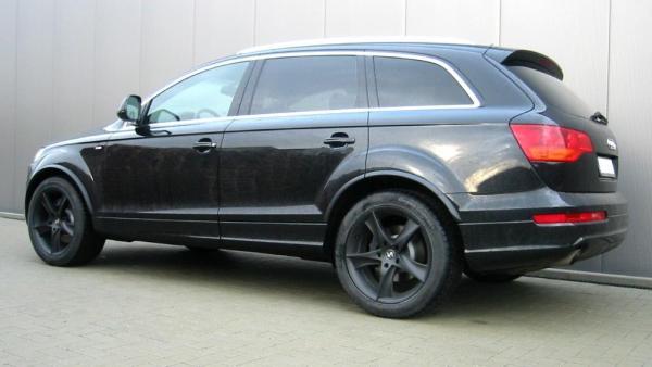"""Audi Q7 Winterräder 20"""" JOFIEL Mattschwarz - PIRELLI Scorpion Ice & Snow"""