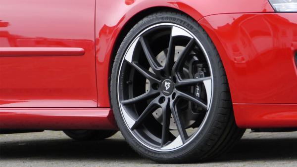 """Audi S6 4G Winterräder 19"""" mb1 Mattschwarz pol. NEXEN mit ABE"""
