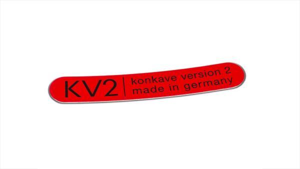 Klebeschild KV2 Universal - Rot