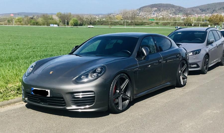 Porsche Panamera 1.Gen. - KV1 Grau glänzend