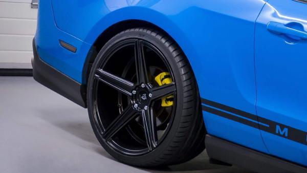 """BMW 5er Sommerräder F10 F11 Sommerräder 20"""" KV1 Schwarzmatt- Conti SP Contact 6"""