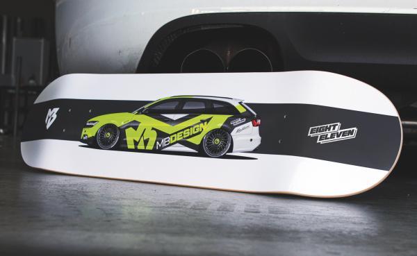 mbDECK - Limited Edition 10 - Audi A6 Neon Grün