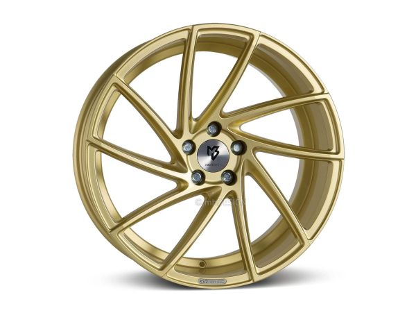 "mbDESIGN KV2 8,5x19"" 5x112 ET43 75.0 5R Gold"