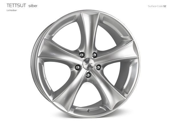 """etabeta TETTSUT 9,0x20"""" 5x112 ET33 66.5 5B1 Glanzsilber Audi Q7"""