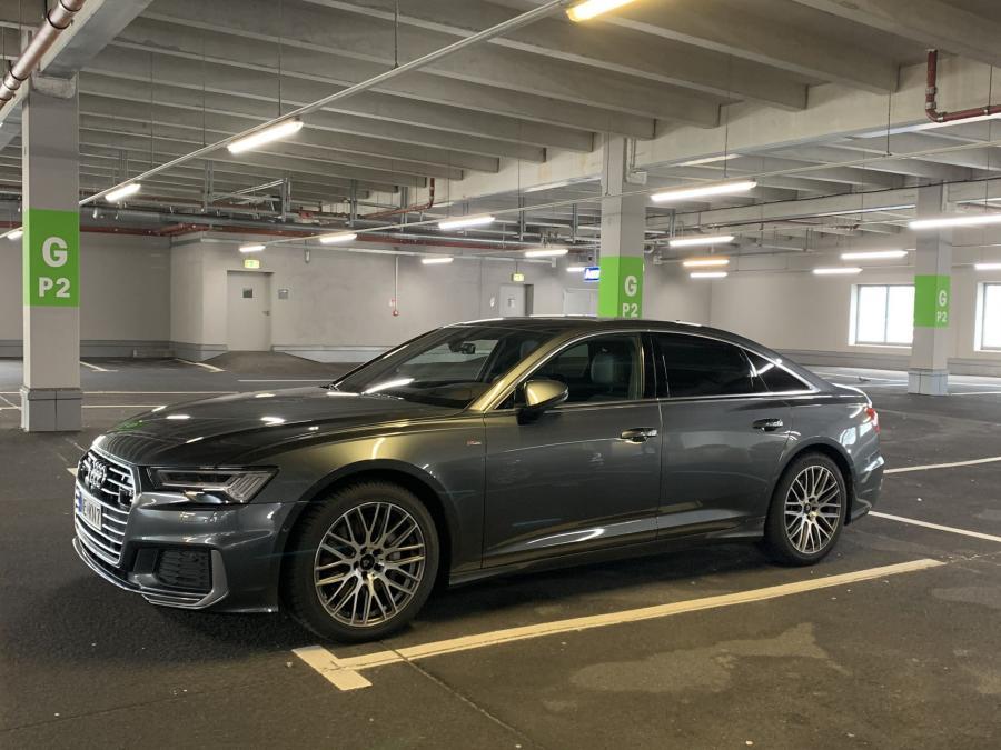 Audi A6 - KV4 Graumatt poliert