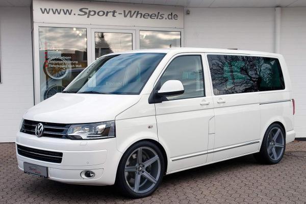 "VW T5 Multivan Sommerräder 20"" KV1 Mattgrau - Dunlop"