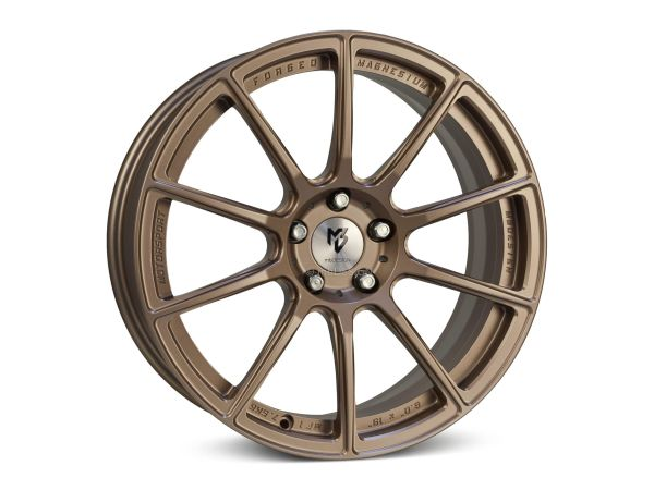 "mbDESIGN MF1 8,0x19"" 5x112 ET50 75.0 5RZ Bronze hell matt"