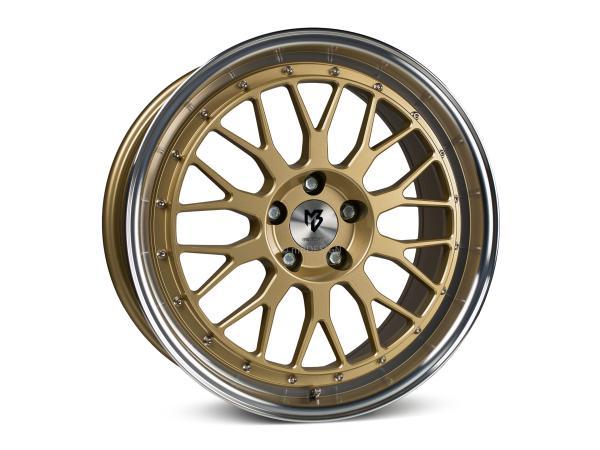 "mbDESIGN LV1 8,5x20"" 5x120 ET35 72.55 5G1R Gold poliert BMW"