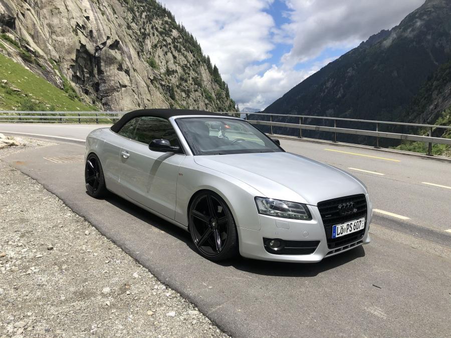 Audi A5 8T,8F - KV1 Schwarz glanz poliert