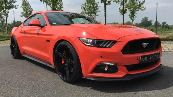"Ford Mustang LAE Sommerräder 20"" KV1 Schwarz glanz - Dunlop"