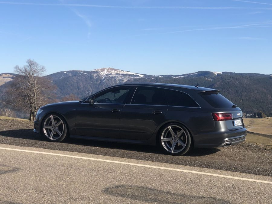 Audi A6 - KV1 Silber