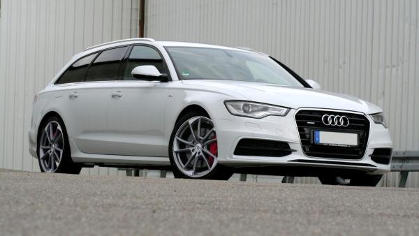 "Audi A6 4G Winterräder 19"" mb1 Mattgrau pol. Conti Wintereifen ABE"