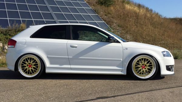 "Audi A3, S3 8P Sommerräder LV1 19"" Gold glanz - Nexen"