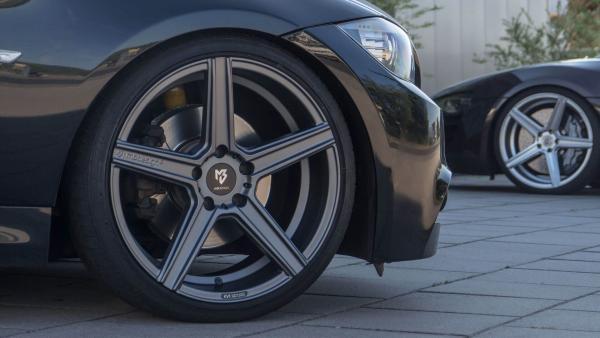 "Audi RS4 B8 Winterräder 20"" KV1 Grey -Conti"