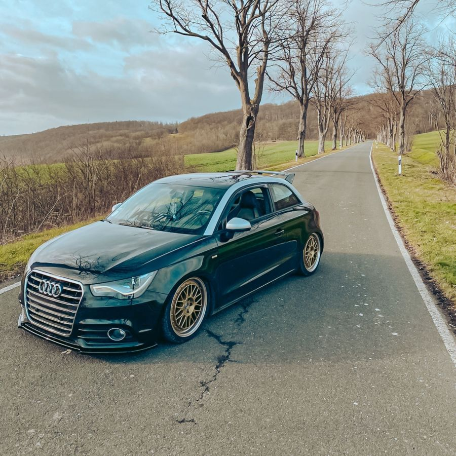 Audi A1 - LV1 Gold glänzend poliert
