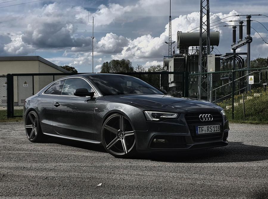 Audi A5 8T,8F - KV1 Grau matt
