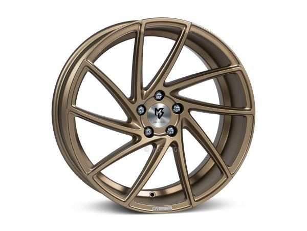 "mbDESIGN KV2 8,5x19"" 5x120 ET42 72.50 5G2 Bronze hell matt BMW"