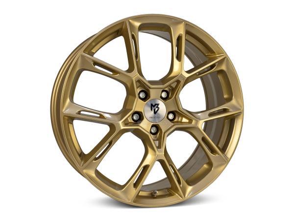 MB DESIGN KX1 hliníkové disky 8,5x20 5x108 ET50 Gold