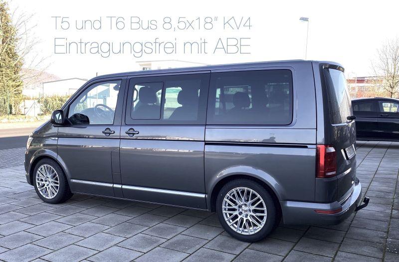 """T6 Bus mit 18"""" Räder"""