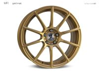 "mbDESIGN MF1 8,0x19"" 5x112 ET45 75.0 5RZ Gold matt"