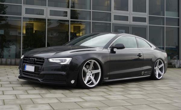 """Audi A5 Sommerräder 20"""" KV1 Silber DC - Dunlop"""