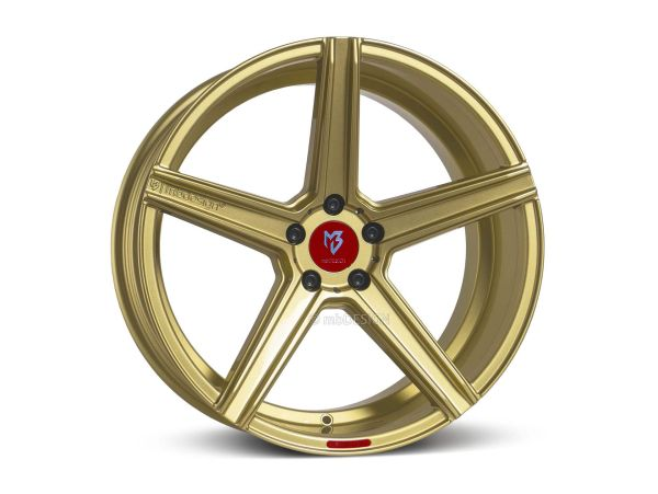 "mbDESIGN KV1 10,0x22"" 5x120 ET40 72.55 5G1S Gold Land Rover"