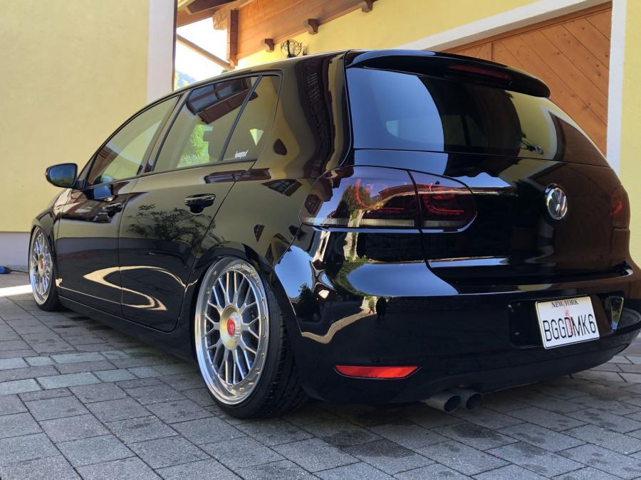 VW Golf VI - LV1 Gold glänzend poliert