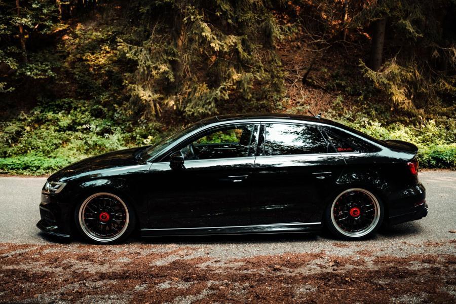 Audi S3 Limousine/Cabrio - LV1 Schwarz glänzend poliert