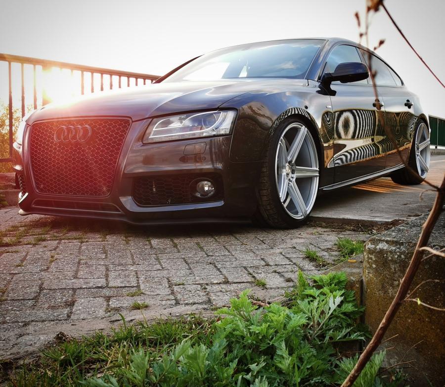 Audi A5 8T,8F - KV1 Silber