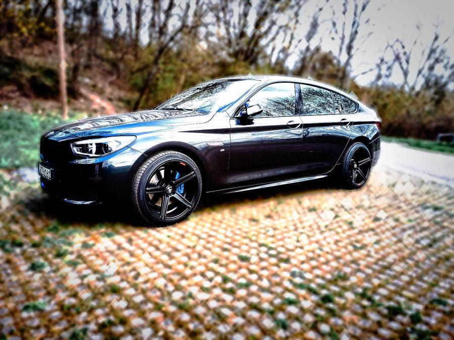 BMW 5er Gran Turismo 5x120 F07 - KV1 Schwarz matt