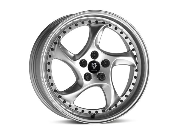 "mbDESIGN TURBO S 8,5x19"" 5x112 ET45 75.0 5RZ Silber"