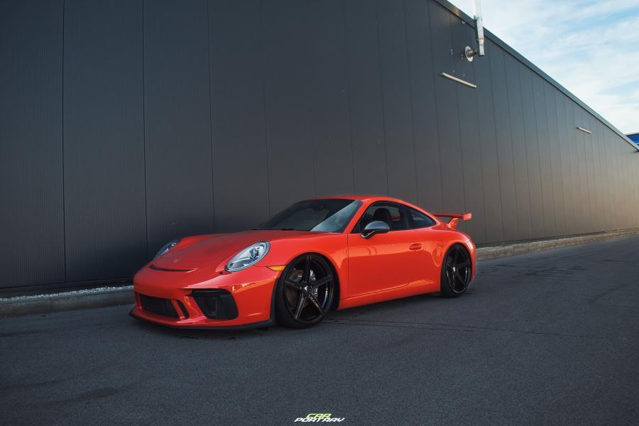 Porsche 911 Carrera, S - KV1 S Schwarz glänzend