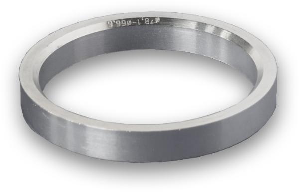 Zentrierring Aluminium 75,0-66,45