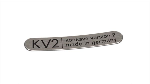 Klebeschild KV2 Universal - Silber